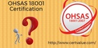Where does OHSAS 18001 Occupational Health & Safety Management