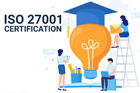 What are the steps for ISO 27001 certification in Kuwait?
